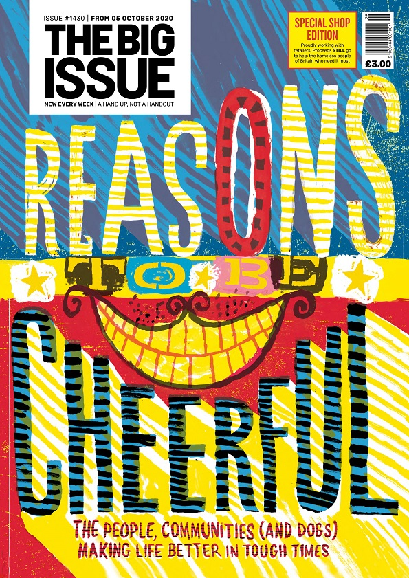 Reasons to be Cheerful - The Big Issue